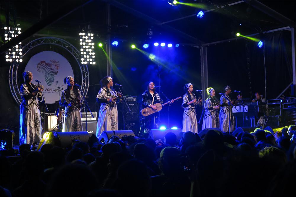 Asmâa & Bnat Timbouktou en Visa For Music 2018./ (Paco Valiente)