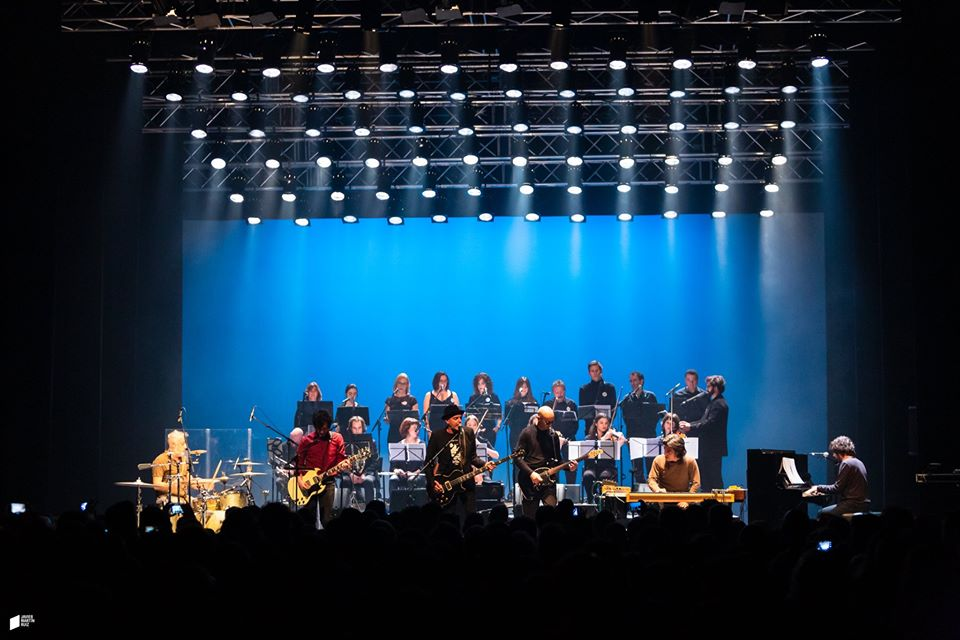 Lagartija Nick en la presentación del álbum  en Granada, el pasado 8 de febrero./ (Javier Martín Ruiz)
