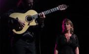 Rocío Márquez con Canito, en el Festival Música al Castell de Dénia el pasado verano,/ (Paco Valiente)