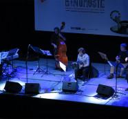 Marcelo Mercadante Sexteto en el escenario de Etnomusic 2019./ (Paco Valiente)