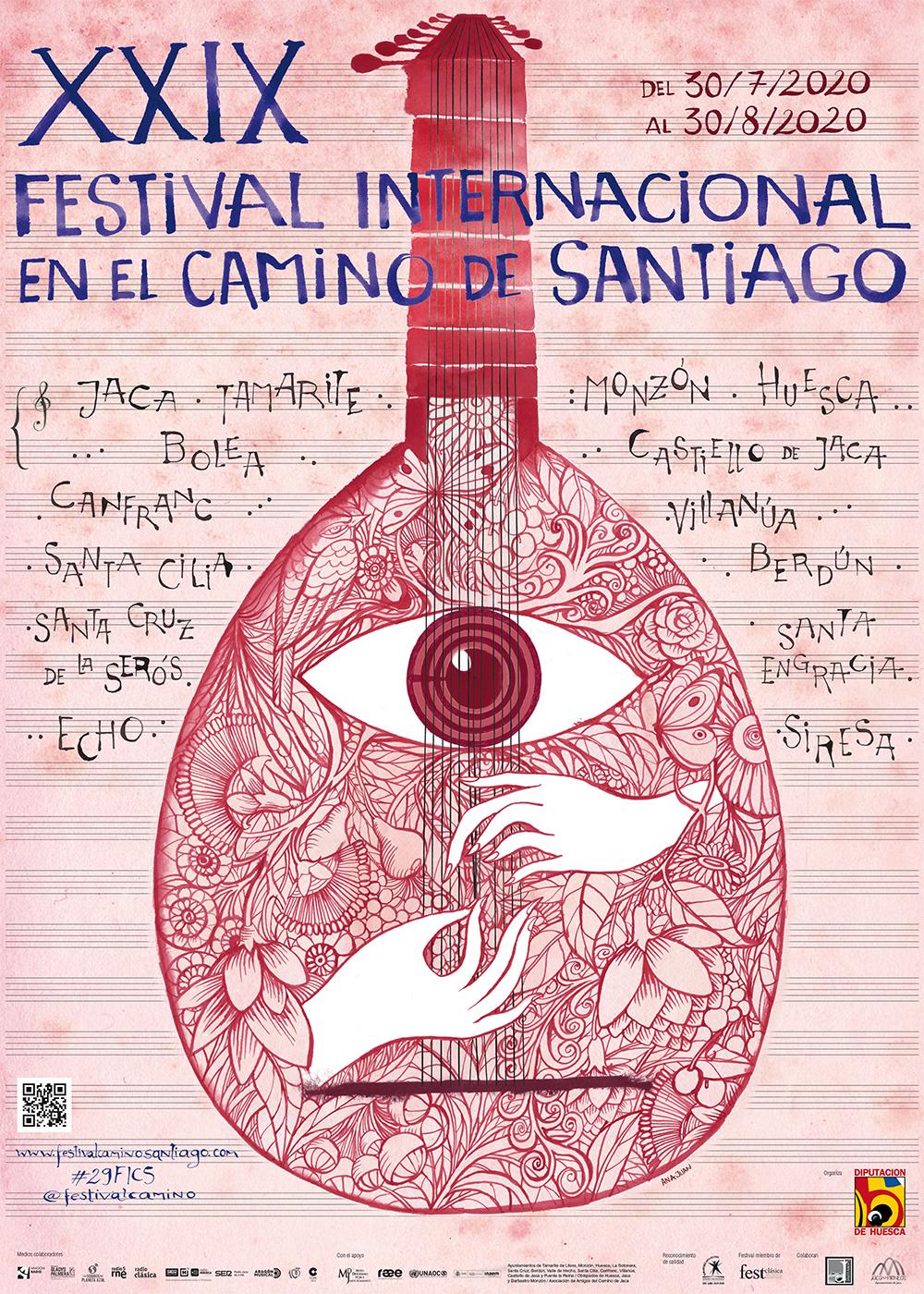 Ana Juan firma el cartel de la edición de 2020
