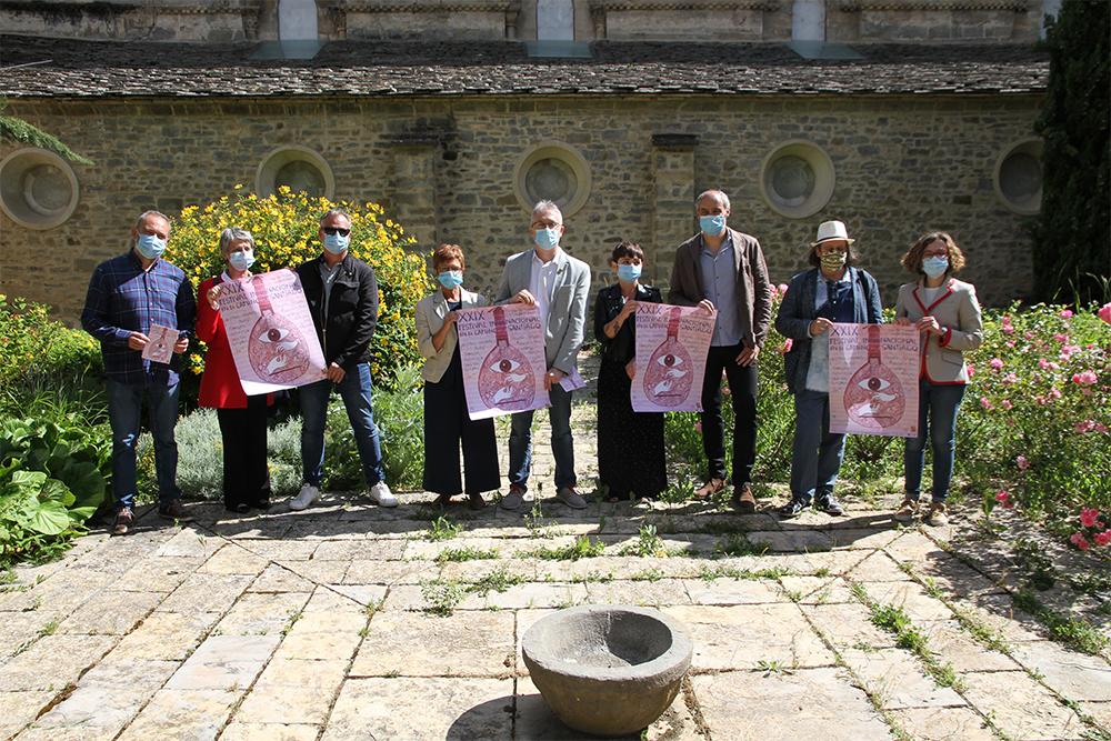 Presentación del 29º FICS en el Museo Diocesano de Jaca./ (D. H.)