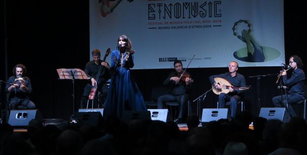 'La Damas de la Canción Árabe' en Etnomusic 2019./ (Paco Valiente)