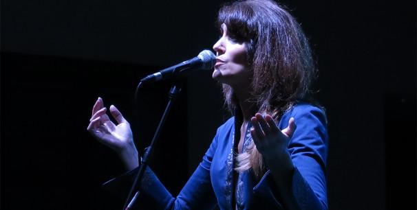 Linda Al Ahmad, la voz del proyecto 'La Damas de la Canción Árabe'./ (Paco Valiente)