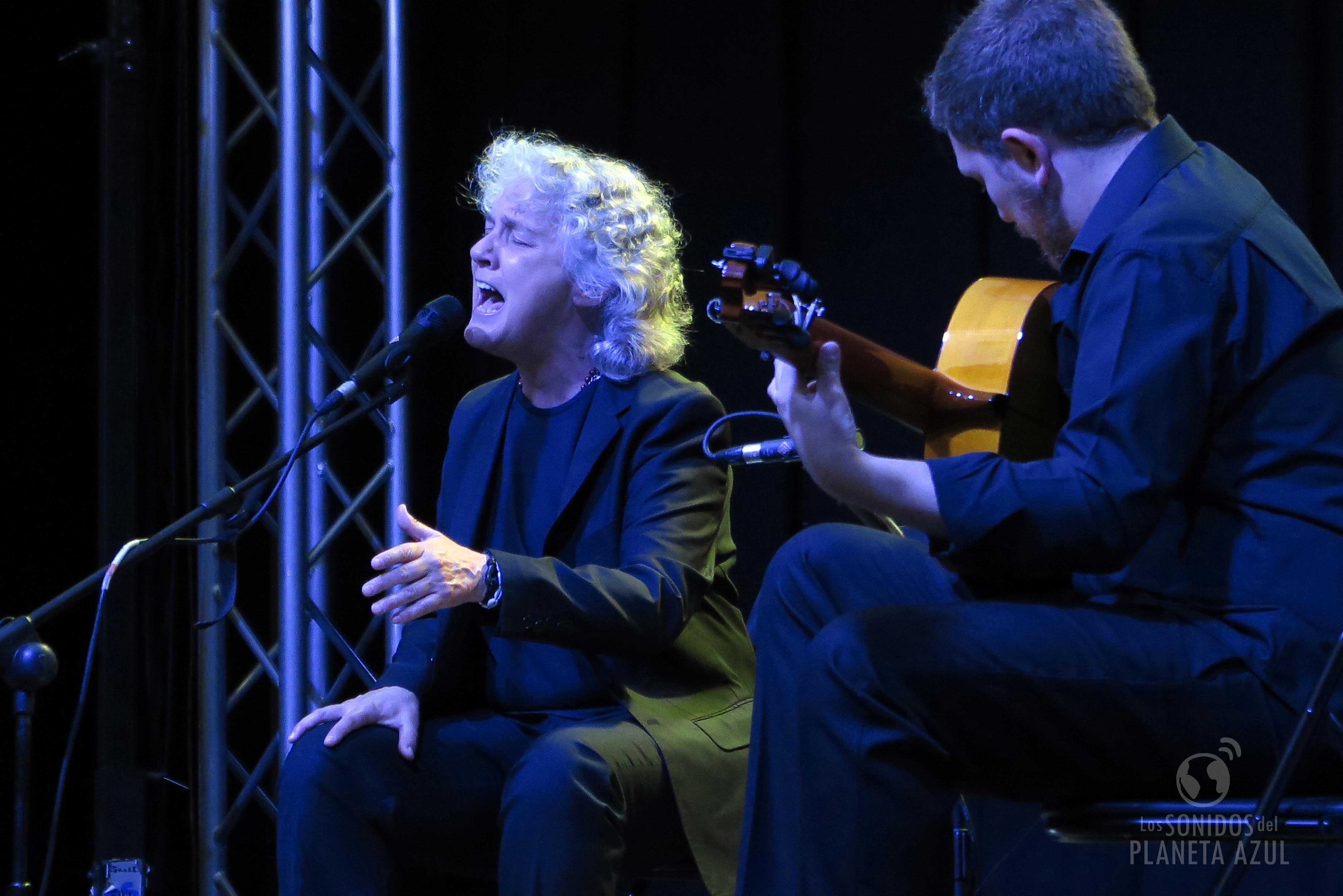 Mayte Martín ofreció 'Memento' un recital flamenco./ (P. V.)