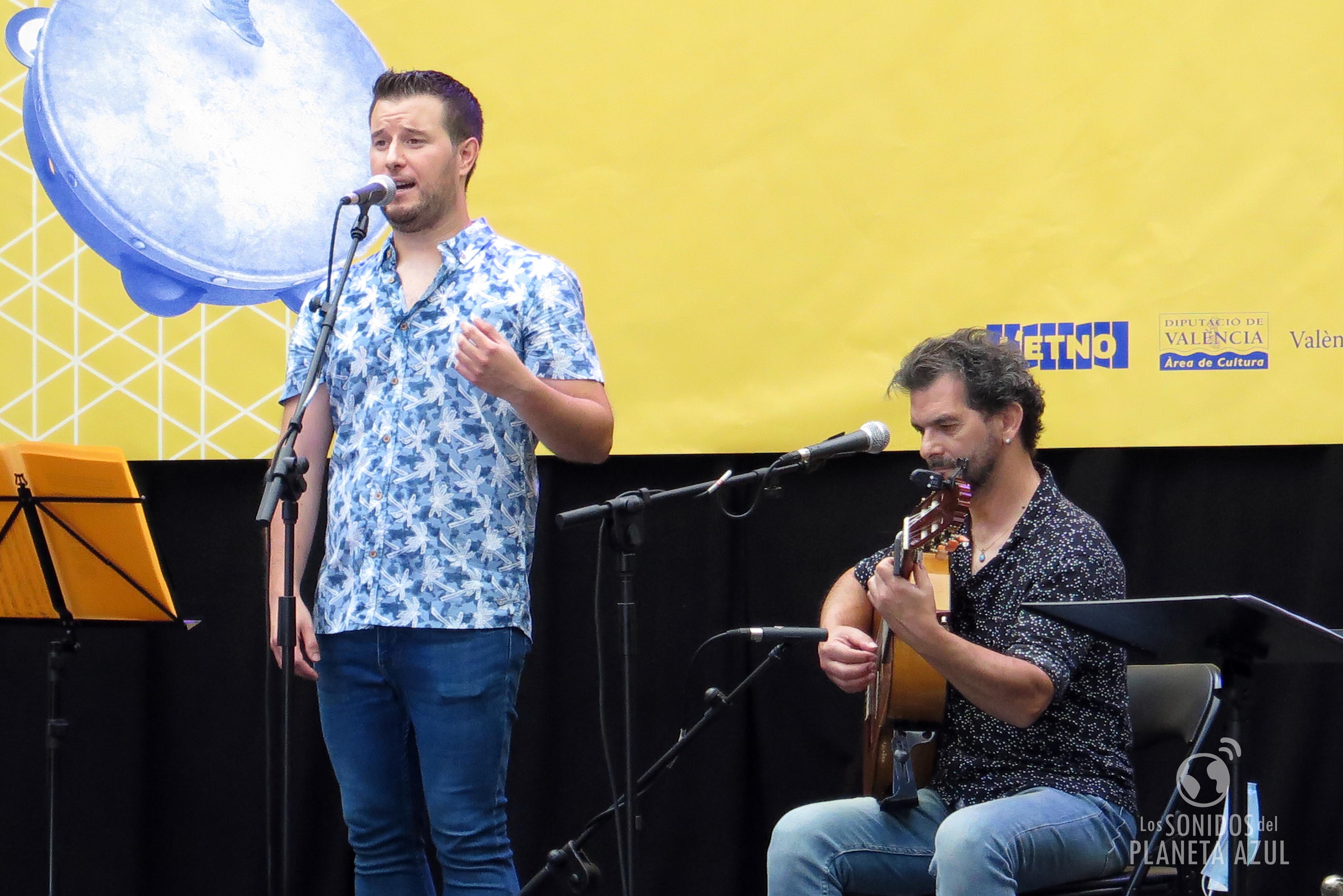 Xavi de Bétera, el cantaor valenciano hizo su primer disco 'Emprentes'