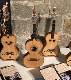 'Sonidos vecinos', instrumentos del Museo de la Música de Urueña - Colección Luis Delgado./ (C. G.)
